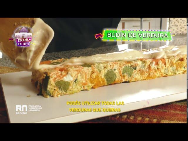 #BienSano: Budín de verduras