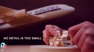 Keren Banget Membuat Miniatur Pesawat dari Kertas