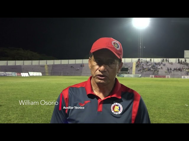 Entrevista William Osorio | Chalatenango 1-2 FAS | Jornada 9 - Apertura 2021