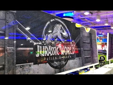 Dinosaur Toys Shopping At Toys R Us! Jurassic World Fallen Kingdom Dinosaur Toys