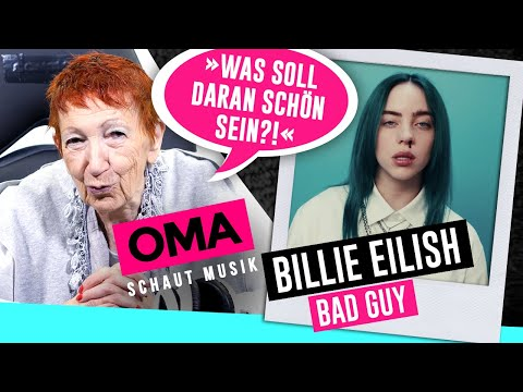 Oma schaut Musik - Billie Eilish (Bad Guy)