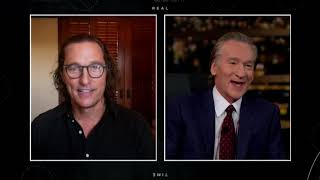 Matthew McConaughey: Greenlights | Real Time with Bill Maher (HBO)