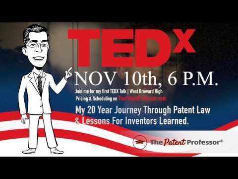 Miami Patent Attorney Delivers First Inventor TEDx Talk in South Florida