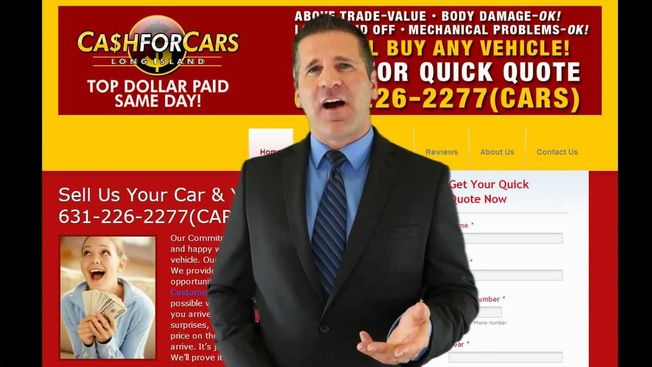 Cash For Cars Long Island, Sell Car, Junk Car - 631-226-2277 - YouTube