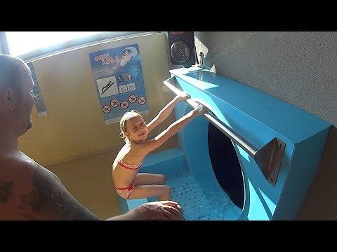 Magic Hole Water Slide at Aqualand Moravia