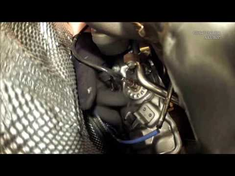 Remove install diesel particulate filter OM 607