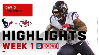 David Johnson Highlights vs. Chiefs | NFL 2020