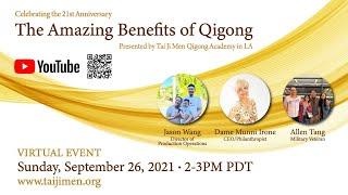 LIVE: Tai Ji Men Qigong Academy Los Angeles 21st Anniversary - 9/26/21