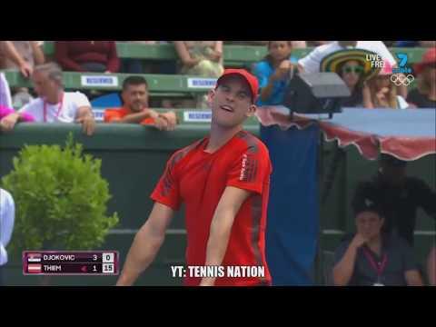 Novak Djokovic vs Dominic Thiem Full Highlights HD or Kooyong Classic 2018 720p