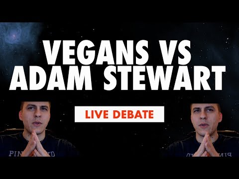 Late Night Vegan Vs Meat Eater Debates - Ft. The Vegan Death Squad