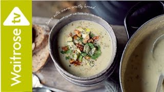 Cauliflower, Pear and Blue Cheese Soup | Waitrose