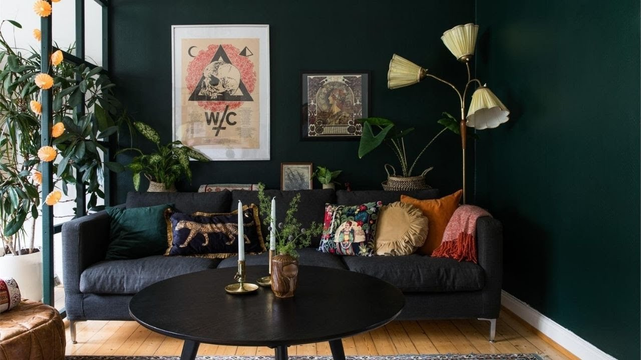 tour Scandi apartment with cool eclectic vibe ▸ interior design