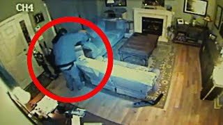 Someone broke into our house.... (caught on camera)