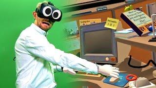SLAVE TO ROBOTS! | Job Simulator IRL