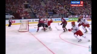 Хоккей Латвия Беларусь драка ЧМ 2014 19.05.2014