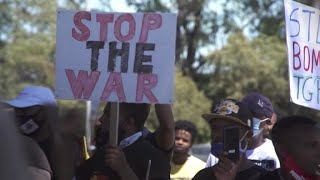 Protests in South Africa against Ethiopia fighting