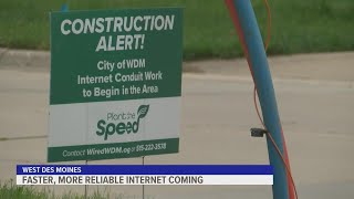 West Des Moines' high-speed internet expansion project running on schedule