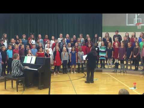 """America Of Thee I Sing"" - Cantrall Intermediate 5-6th Grade Choir"
