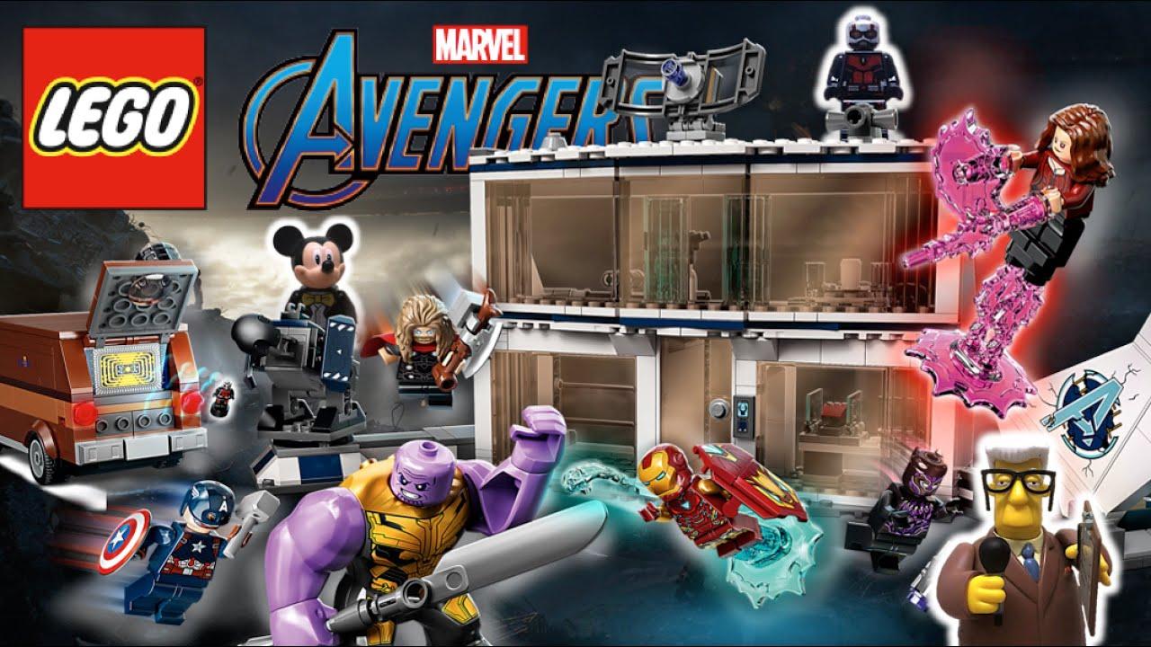 LEGO AVENGERS ENDGAME - Set de LA BATALLA FINAL (2021) | INFINITY SAGA Marvel Studios - TOY SHOTS