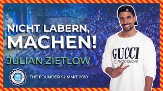 Vom 3,7er Abi zum ERFOLGREICHEN MULTI-UNTERNEHMER - Julian Zietlow - Founder Summit 2018