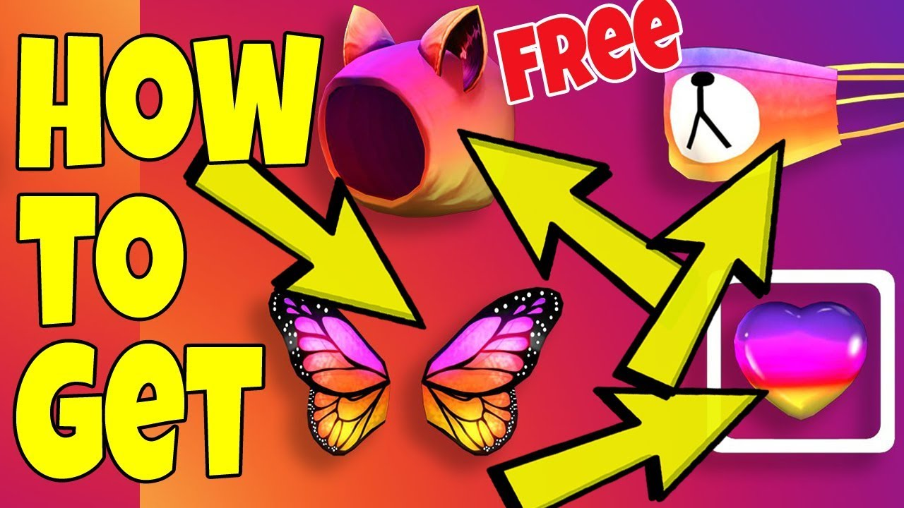 Roblox Rainbow Face Mask How To Get All These Free Roblox Promo Codes Bear Mask Wings Hood Heart Youtube