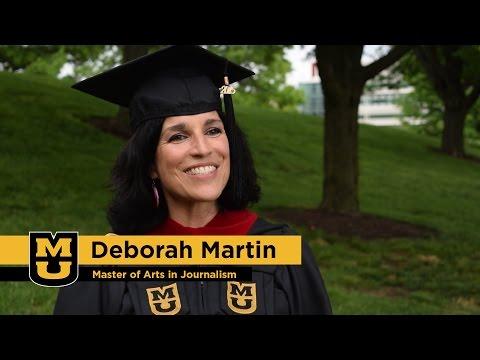 Deborah Martin: Master of Arts in Journalism '15, University of Missouri
