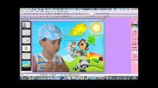 Como fazer um Banner infantil no Photofiltre Studio