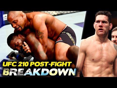 BREAKDOWN: UFC 210 Post-fight (w/ Robin Black, Sean Sheehan)