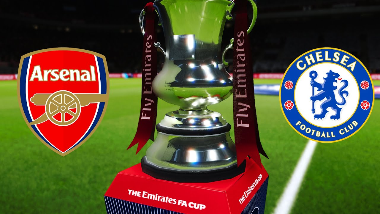Arsenal vs Chelsea - FA Cup Final 2020 Gameplay - YouTube