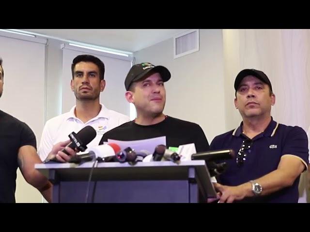 07 11 19 Conferencia de prensa en La Paz, de Luis Fernando Camacho