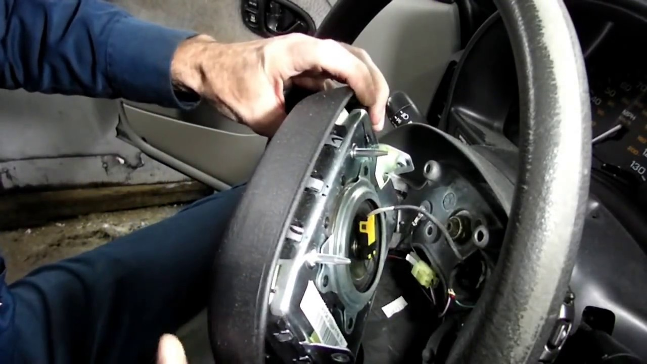 Saturn Horn Button Replacement Youtube 02 Mitsubishi Lancer Wiring Diagram