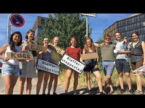 Frem med tomlen: Danmarks første blaffer-stationer