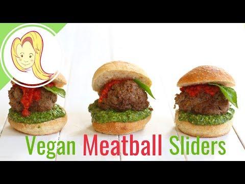 Vegan Meatball Sliders