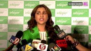 Whisper & Parineeti Chopra Celebrate the end of period taboos! part 4