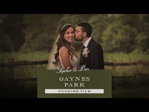 Gaynes Park | Sophie & Ben's Wedding Film 2019 | Essex Wedding Videographer