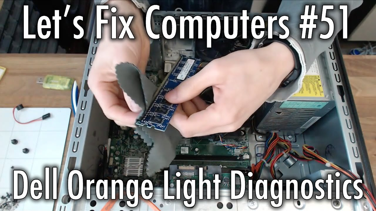 LFC#51 - Dell Orange Light Diagnostics