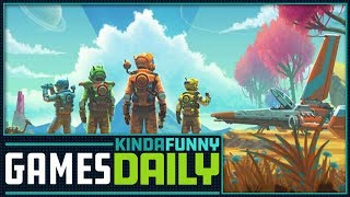 No Man's Sky Update Sounds Rad - Kinda Funny Games Daily 07.17.18