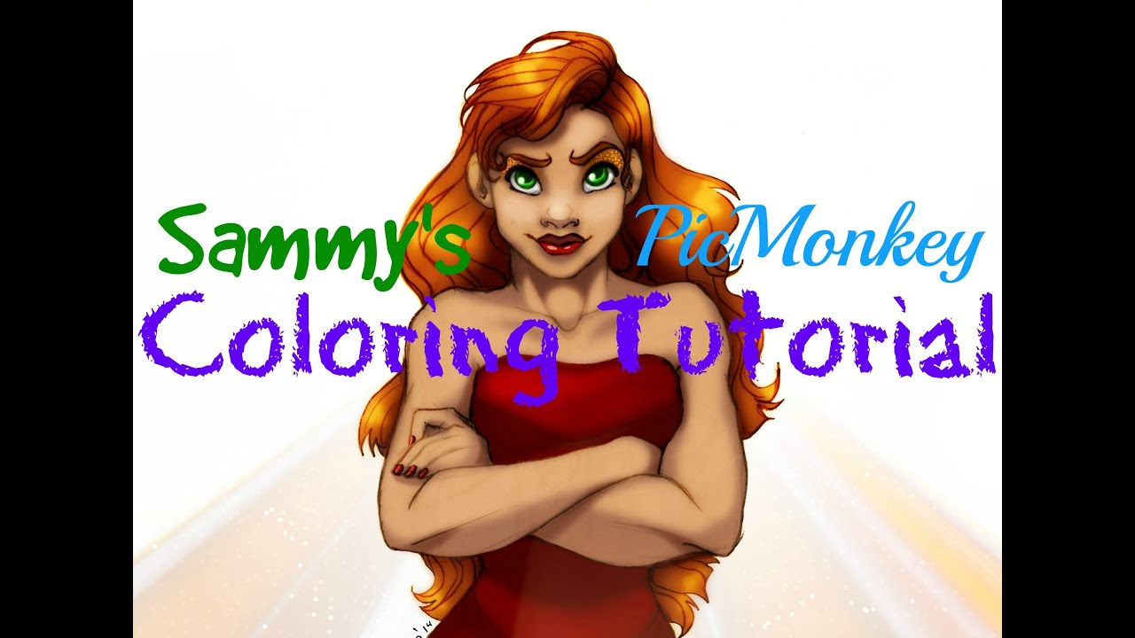 How to color your art in photoshop - Picmonkey Tutorial How To Color Your Art Like Photoshop