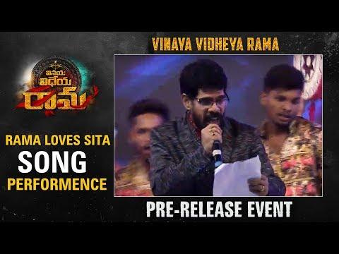 Rama Loves Sita Song Performance @ Vinaya Vidheya Rama Pre Release Event