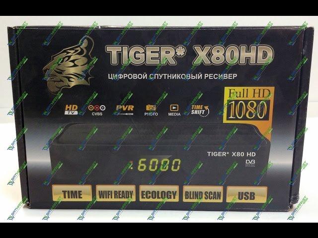 Видео обзор Tiger X80 HD