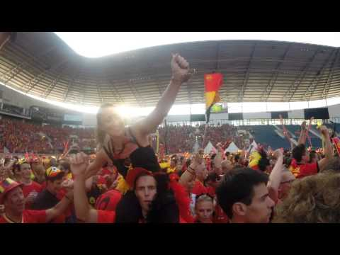 Belgium 1-0 Russia, Ghelamco arena Ghent