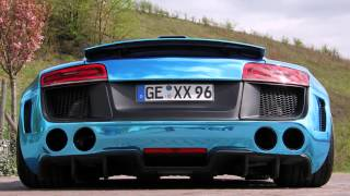 xXx Performance Audi R8 Biturbo 2014 Videos