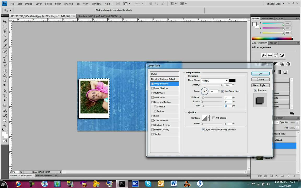How to make a collage in Adobe Photoshop