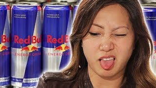People Try Red Bull For The First Time