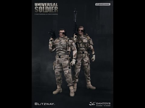 Damtoys & Blitzway - Luc Deveraux & Andrew Scott - Universal Soldier - Review Francaise French