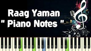 Raga Piano Notes