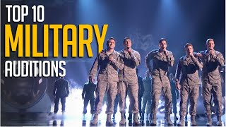 Top 10 MILITARY Auditions That Will Steal Your Heart