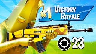 FULL GOLD PEELY SQUAD!! (Fortnite Battle Royale)
