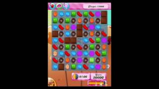 Candy Crush Saga Level 166 Walkthrough