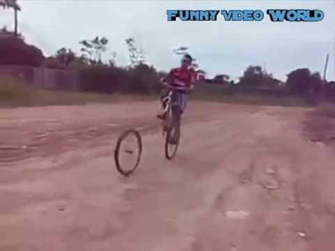 Funny Bicycle Accident (Funny Fail Video)